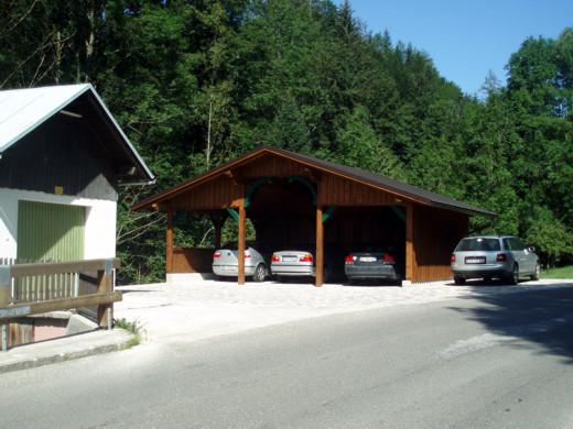 Ferienhaus Werner Pucher - Fischerndorf 51 - 8992 Altaussee - Ferienwohnungen - Carport