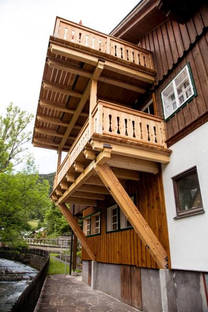 Ferienhaus Pucher Ferienwohnung Altaussee Natur Anreise Ausblick Loser Sarstein